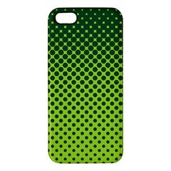 Halftone Circle Background Dot Iphone 5s/ Se Premium Hardshell Case