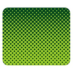 Halftone Circle Background Dot Double Sided Flano Blanket (small)