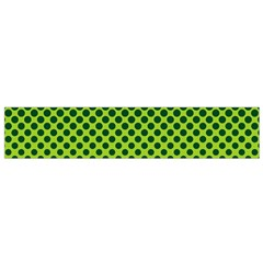 Halftone Circle Background Dot Flano Scarf (small)