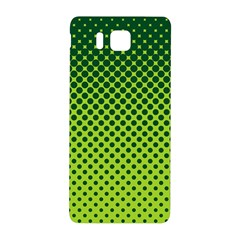 Halftone Circle Background Dot Samsung Galaxy Alpha Hardshell Back Case