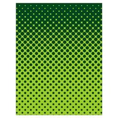 Halftone Circle Background Dot Drawstring Bag (large)
