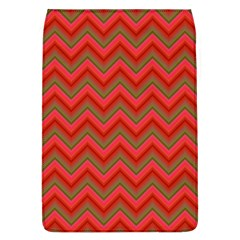 Background Retro Red Zigzag Flap Covers (l)
