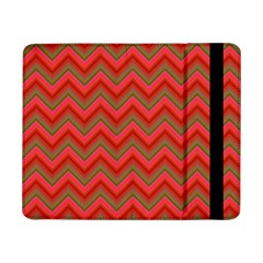 Background Retro Red Zigzag Samsung Galaxy Tab Pro 8 4  Flip Case