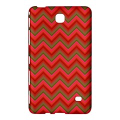 Background Retro Red Zigzag Samsung Galaxy Tab 4 (8 ) Hardshell Case