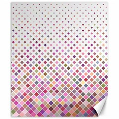 Pattern Square Background Diagonal Canvas 8  X 10