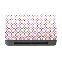 Pattern Square Background Diagonal Memory Card Reader With Cf