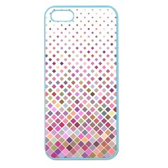 Pattern Square Background Diagonal Apple Seamless Iphone 5 Case (color)