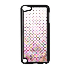 Pattern Square Background Diagonal Apple Ipod Touch 5 Case (black)