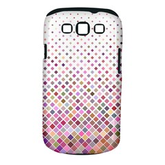Pattern Square Background Diagonal Samsung Galaxy S Iii Classic Hardshell Case (pc+silicone)