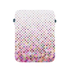 Pattern Square Background Diagonal Apple Ipad 2/3/4 Protective Soft Cases
