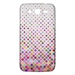 Pattern Square Background Diagonal Samsung Galaxy Mega 5 8 I9152 Hardshell Case