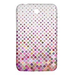 Pattern Square Background Diagonal Samsung Galaxy Tab 3 (7 ) P3200 Hardshell Case