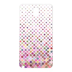 Pattern Square Background Diagonal Samsung Galaxy Note 3 N9005 Hardshell Back Case