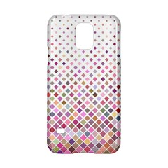 Pattern Square Background Diagonal Samsung Galaxy S5 Hardshell Case