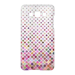 Pattern Square Background Diagonal Samsung Galaxy A5 Hardshell Case