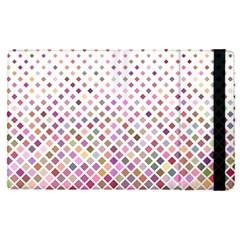 Pattern Square Background Diagonal Apple Ipad Pro 9 7   Flip Case