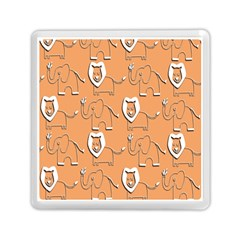 Lion Pattern Wallpaper Vector Memory Card Reader (square)