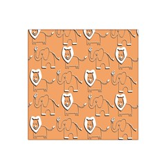 Lion Pattern Wallpaper Vector Satin Bandana Scarf