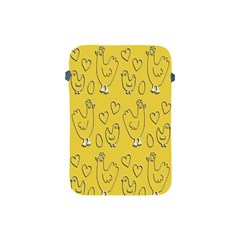 Chicken Chick Pattern Wallpaper Apple Ipad Mini Protective Soft Cases