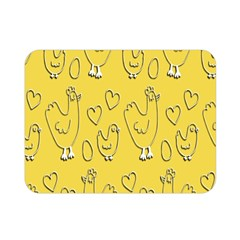 Chicken Chick Pattern Wallpaper Double Sided Flano Blanket (mini)