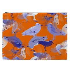Seagull Gulls Coastal Bird Bird Cosmetic Bag (xxl)