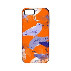 Seagull Gulls Coastal Bird Bird Apple Iphone 5 Classic Hardshell Case (pc+silicone)