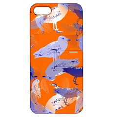 Seagull Gulls Coastal Bird Bird Apple Iphone 5 Hardshell Case With Stand