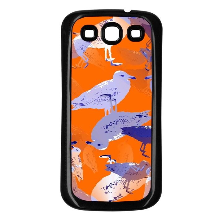 Seagull Gulls Coastal Bird Bird Samsung Galaxy S3 Back Case (Black)
