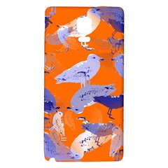 Seagull Gulls Coastal Bird Bird Galaxy Note 4 Back Case