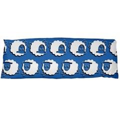 Sheep Pattern Wallpaper Vector Body Pillow Case (dakimakura)