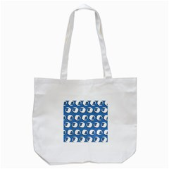 Sheep Pattern Wallpaper Vector Tote Bag (white)