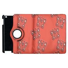 Butterfly Pink Pattern Wallpaper Apple Ipad 3/4 Flip 360 Case