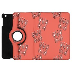 Butterfly Pink Pattern Wallpaper Apple Ipad Mini Flip 360 Case