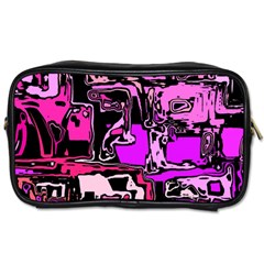 Modern Abstract 47b Toiletries Bags 2 Side