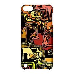 Modern Abstract 47c Apple Ipod Touch 5 Hardshell Case With Stand