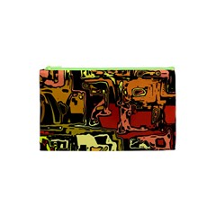 Modern Abstract 47c Cosmetic Bag (xs)