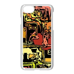 Modern Abstract 47c Apple Iphone 7 Seamless Case (white)