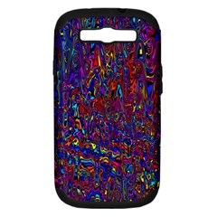 Modern Abstract 45a Samsung Galaxy S Iii Hardshell Case (pc+silicone)