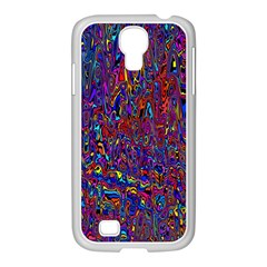 Modern Abstract 45a Samsung Galaxy S4 I9500/ I9505 Case (white)