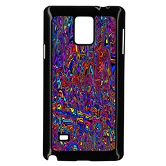 Modern Abstract 45a Samsung Galaxy Note 4 Case (black)