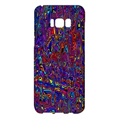 Modern Abstract 45a Samsung Galaxy S8 Plus Hardshell Case