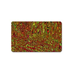 Modern Abstract 45c Magnet (name Card)