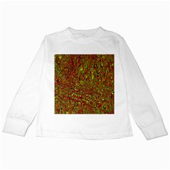 Modern Abstract 45c Kids Long Sleeve T Shirts