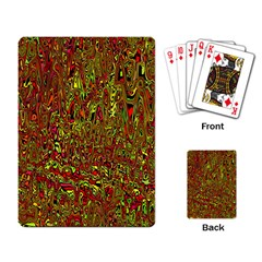 Modern Abstract 45c Playing Card