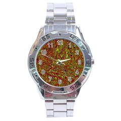 Modern Abstract 45c Stainless Steel Analogue Watch