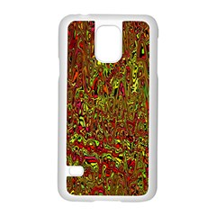 Modern Abstract 45c Samsung Galaxy S5 Case (white)