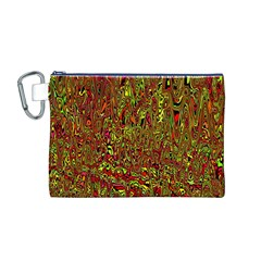Modern Abstract 45c Canvas Cosmetic Bag (m)