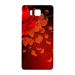 Cherry Blossom, Red Colors Samsung Galaxy Alpha Hardshell Back Case