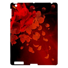 Cherry Blossom, Red Colors Apple Ipad 3/4 Hardshell Case