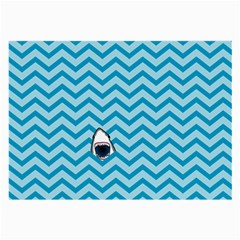 Chevron Shark Pattern Large Glasses Cloth (2 Side)